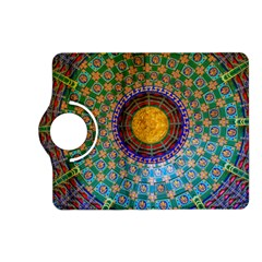 Temple Abstract Ceiling Chinese Kindle Fire Hd (2013) Flip 360 Case