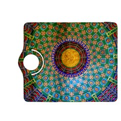 Temple Abstract Ceiling Chinese Kindle Fire HDX 8.9  Flip 360 Case
