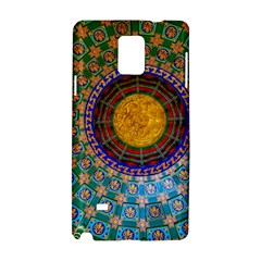 Temple Abstract Ceiling Chinese Samsung Galaxy Note 4 Hardshell Case