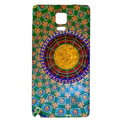 Temple Abstract Ceiling Chinese Galaxy Note 4 Back Case