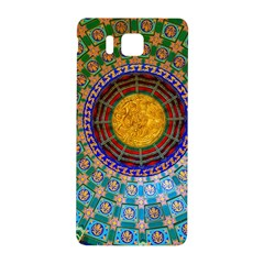 Temple Abstract Ceiling Chinese Samsung Galaxy Alpha Hardshell Back Case