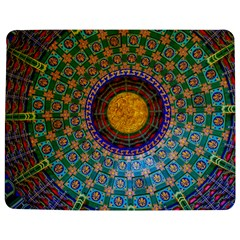 Temple Abstract Ceiling Chinese Jigsaw Puzzle Photo Stand (rectangular)