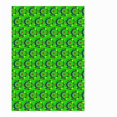 Abstract Art Circles Swirls Stars Small Garden Flag (Two Sides)