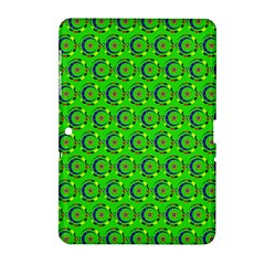 Abstract Art Circles Swirls Stars Samsung Galaxy Tab 2 (10 1 ) P5100 Hardshell Case