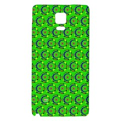 Abstract Art Circles Swirls Stars Galaxy Note 4 Back Case