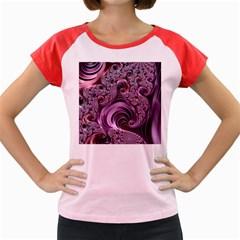 Abstract Art Fractal Art Fractal Women s Cap Sleeve T-Shirt