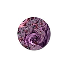 Abstract Art Fractal Art Fractal Golf Ball Marker