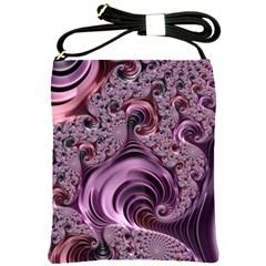 Abstract Art Fractal Art Fractal Shoulder Sling Bags