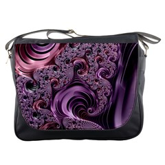 Abstract Art Fractal Art Fractal Messenger Bags