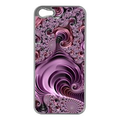 Abstract Art Fractal Art Fractal Apple iPhone 5 Case (Silver)