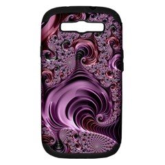 Abstract Art Fractal Art Fractal Samsung Galaxy S III Hardshell Case (PC+Silicone)