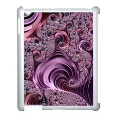 Abstract Art Fractal Art Fractal Apple iPad 3/4 Case (White)