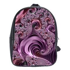 Abstract Art Fractal Art Fractal School Bags (xl)