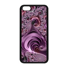 Abstract Art Fractal Art Fractal Apple Iphone 5c Seamless Case (black)