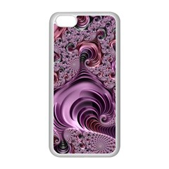 Abstract Art Fractal Art Fractal Apple Iphone 5c Seamless Case (white)