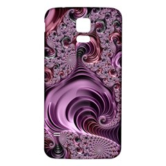Abstract Art Fractal Art Fractal Samsung Galaxy S5 Back Case (white)
