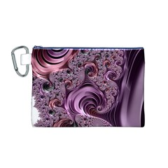 Abstract Art Fractal Art Fractal Canvas Cosmetic Bag (m)