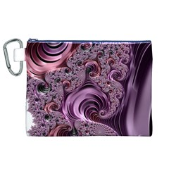 Abstract Art Fractal Art Fractal Canvas Cosmetic Bag (xl)