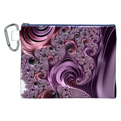 Abstract Art Fractal Art Fractal Canvas Cosmetic Bag (XXL)