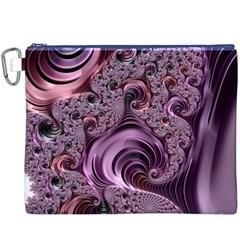 Abstract Art Fractal Art Fractal Canvas Cosmetic Bag (XXXL)