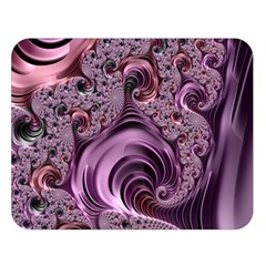Abstract Art Fractal Art Fractal Double Sided Flano Blanket (Large)