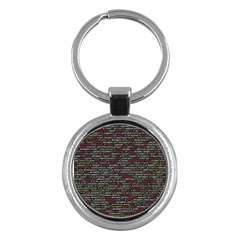 Full Frame Shot Of Abstract Pattern Key Chains (Round)