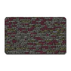 Full Frame Shot Of Abstract Pattern Magnet (rectangular)