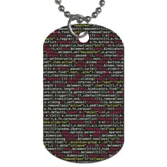 Full Frame Shot Of Abstract Pattern Dog Tag (one Side)