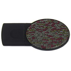 Full Frame Shot Of Abstract Pattern USB Flash Drive Oval (4 GB)