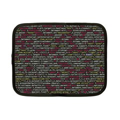 Full Frame Shot Of Abstract Pattern Netbook Case (small)