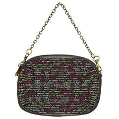 Full Frame Shot Of Abstract Pattern Chain Purses (Two Sides)