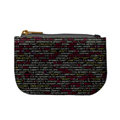 Full Frame Shot Of Abstract Pattern Mini Coin Purses