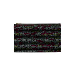 Full Frame Shot Of Abstract Pattern Cosmetic Bag (Small)