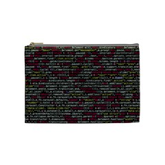 Full Frame Shot Of Abstract Pattern Cosmetic Bag (medium)