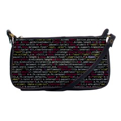 Full Frame Shot Of Abstract Pattern Shoulder Clutch Bags