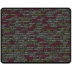 Full Frame Shot Of Abstract Pattern Fleece Blanket (medium)