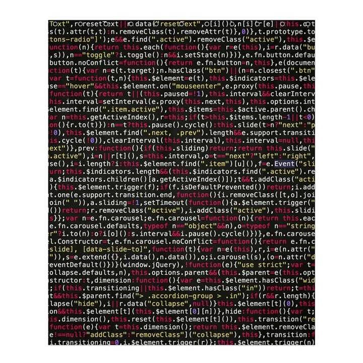 Full Frame Shot Of Abstract Pattern Shower Curtain 60  x 72  (Medium)