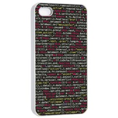 Full Frame Shot Of Abstract Pattern Apple iPhone 4/4s Seamless Case (White)