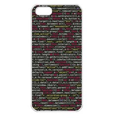 Full Frame Shot Of Abstract Pattern Apple iPhone 5 Seamless Case (White)