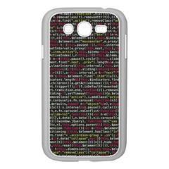 Full Frame Shot Of Abstract Pattern Samsung Galaxy Grand Duos I9082 Case (white)