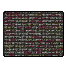 Full Frame Shot Of Abstract Pattern Double Sided Fleece Blanket (small)