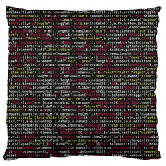 Full Frame Shot Of Abstract Pattern Large Flano Cushion Case (Two Sides)