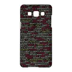 Full Frame Shot Of Abstract Pattern Samsung Galaxy A5 Hardshell Case