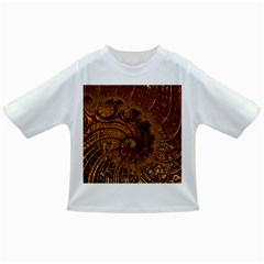 Copper Caramel Swirls Abstract Art Infant/toddler T Shirts