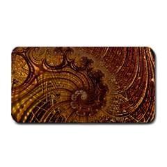Copper Caramel Swirls Abstract Art Medium Bar Mats