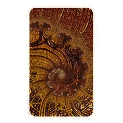 Copper Caramel Swirls Abstract Art Memory Card Reader