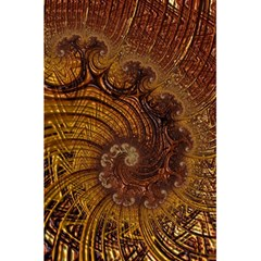 Copper Caramel Swirls Abstract Art 5.5  x 8.5  Notebooks