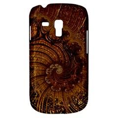 Copper Caramel Swirls Abstract Art Galaxy S3 Mini