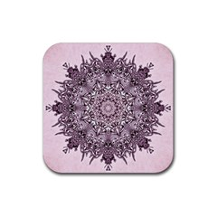 Sacred Art Shaman Shamanism Rubber Coaster (square)