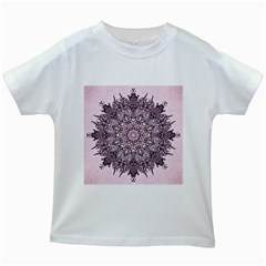 Sacred Art Shaman Shamanism Kids White T Shirts